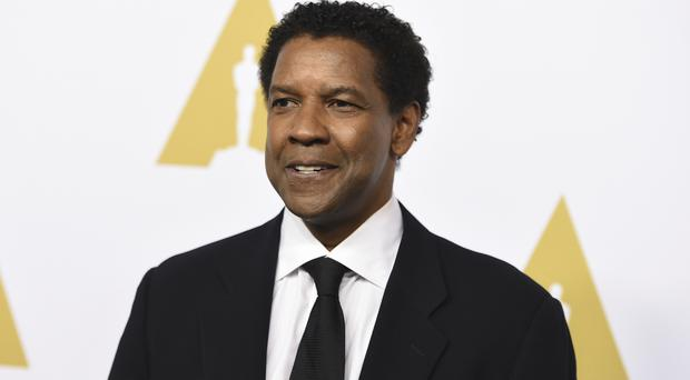 Denzel Washington said his son had voiced concerns about following in his father's footsteps (Invision/AP)