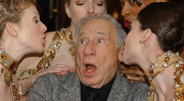 Mel Brooks is one of 12 people to have won an Emmy, a Grammy, an Oscar and a Tony