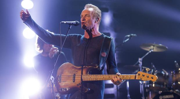 Sting is to perform one of the Oscar nominated soundtracks at the LA ceremony