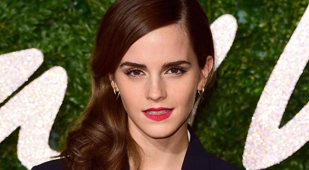 Emma Watson at another press call