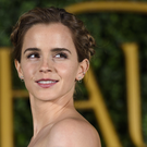 Emma Watson at Beauty And The Beast launch in London