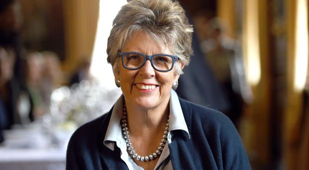 File photo dated 14/2/2017 of Prue Leith who has come another step closer to replacing Mary Berry as judge on the Great British Bake Off as bookmakers start to shut down bets.