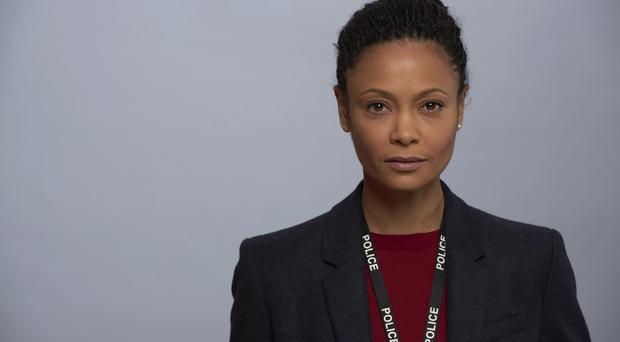 WARNING: Embargoed for publication until 00:00:01 on 21/03/2017 - Programme Name: Line of Duty - Series 4 - TX: n/a - Episode: Line of Duty - Series 4 - Portraits (No. n/a) - Picture Shows: Detective Chief Inspector Roz Huntley (THANDIE NEWTON) - (C) World Productions - Photographer: Des Willie