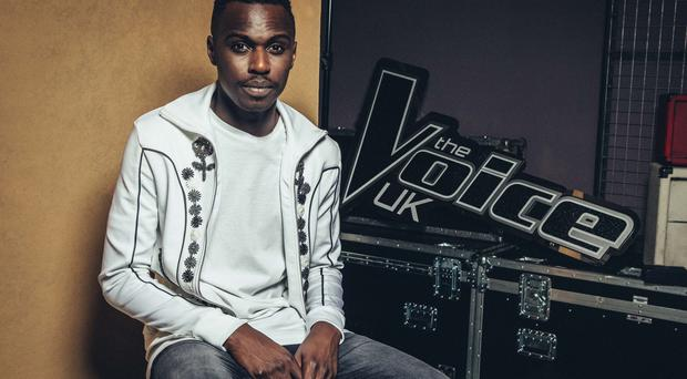 ITV undated handout of Mo Adeniran, one of the finalists in this year's ITV1 singing contest, The Voice UK.