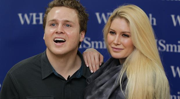 Heidi Montag and Spencer Pratt during a signing session of OK! Magazine, at WH Smith in Brent Cross Shopping Centre, north London.