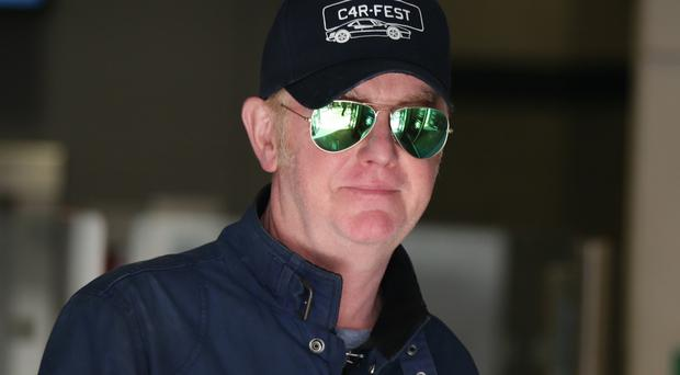Chris Evans, who has quit Top Gear after just one series, leaves BBC Broadcasting House in London after presenting his regular Radio 2 breakfast show.