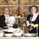 Undated Plank PR handout photo of MasterChef judges Gregg Wallace (left) and John Torode, ahead of MasterChef 2017, which returns to BBC1 this spring.