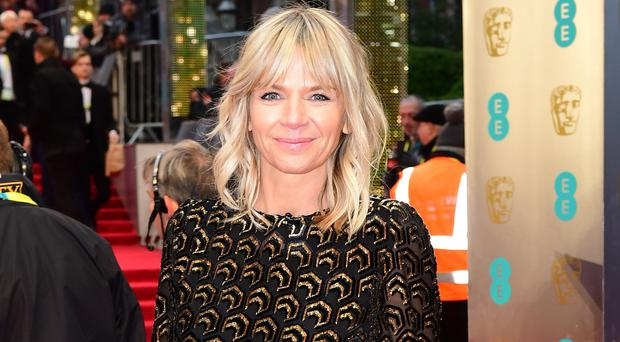 Zoe Ball plunged into mouring