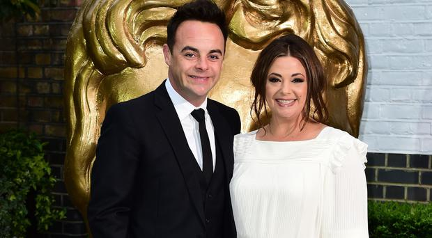 Ant McPartlin and Lisa Armstrong.