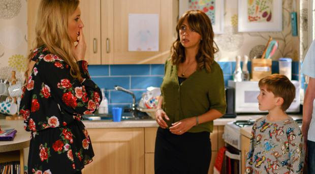 Eva is angry with Maria (ITV)