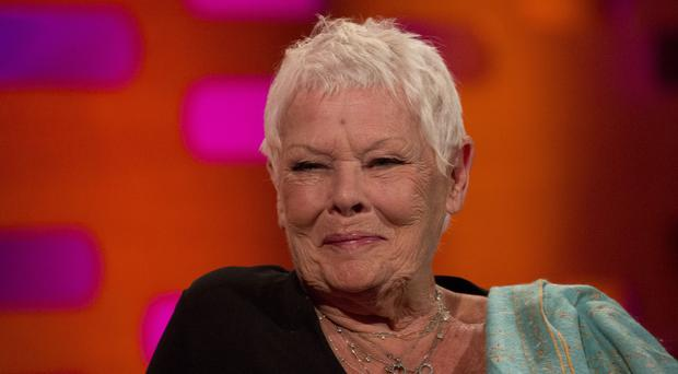 Dame Judi Dench on the Graham Norton Show (Isabel Infantes/PA)