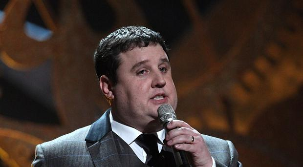 Peter Kay in action. (Yui Mok/PA)