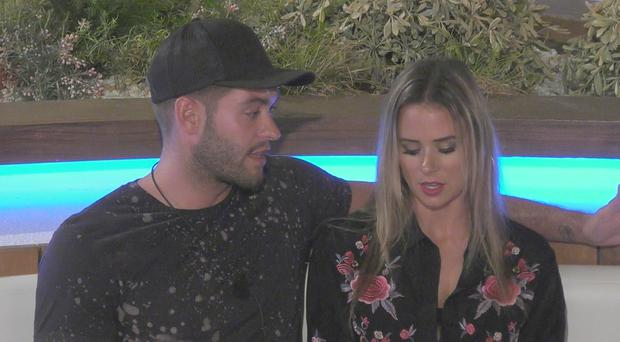 Love Island's Simon shares his thoughts about Jonny and Camilla after being booted (ITV Studios)