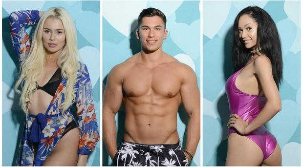 New Love Island stars wary of fiery Olivia – but one has eye on her man Chris (ITV)