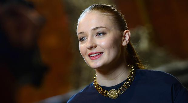 Sophie Turner plays Sansa Stark (Arthur Allison/PA)