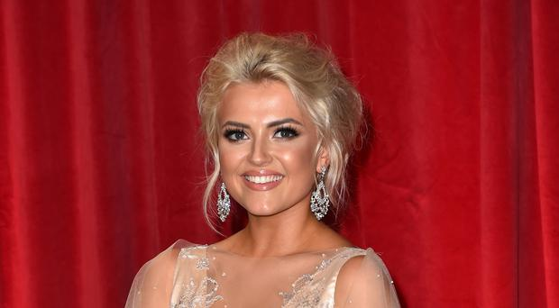 Lucy Fallon attending the British Soap Awards 2017 (Matt Crossick/PA)