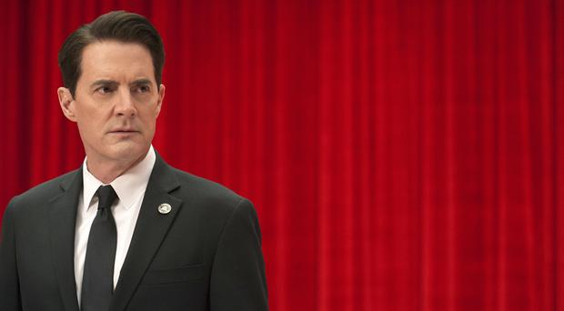 Special Agent Dale Cooper in the Red Room (Suzanne Tenner/SHOWTIME)
