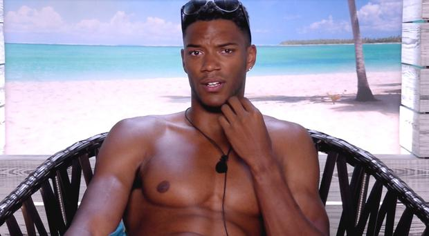 Dumped Love Island star Theo says he is 'bang on' about Tyla being fake (ITV)