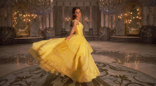 Emma Watson as Belle in Beauty And The Beast (PA)