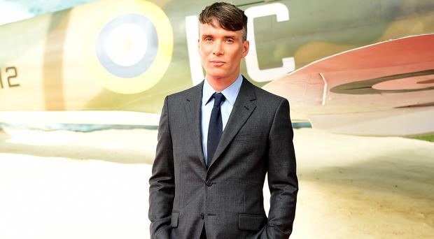 Cillian Murphy stars in Dunkirk (Ian West/PA)