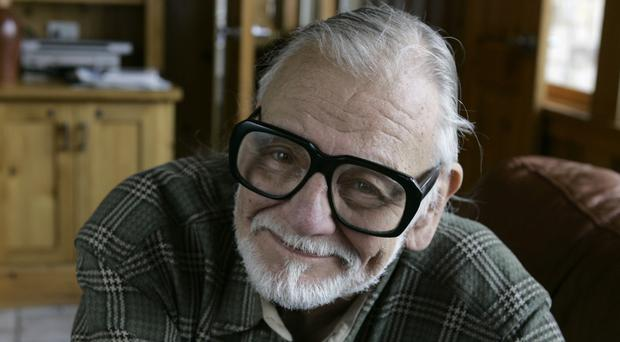 The zombie film legend died surrounded by his family (Amy Sancetta/AP)