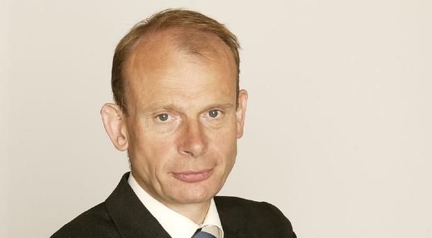 Andrew Marr has defended his salary (Giles Park/BBC)