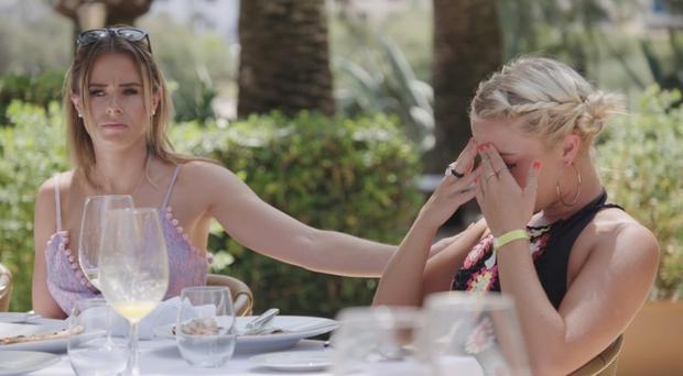 Love Island's Gabby sheds tears amid tension as two more dumpings loom (ITV)