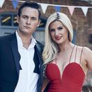 Sarah Jayne Dunn and Gary Lucy's characters will be in a relationship for their Hollyoaks return (Ian Derry/Channel 4 Television)