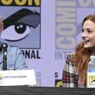 Sophie Turner alongside Liam Cunningham at Comic-Con San Diego (Powers Imagery/AP)