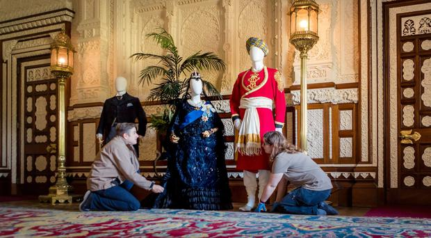 Osborne to display costumes from new Dame Judi Dench film Victoria and Abdul (Chris Ison/English Heritage)