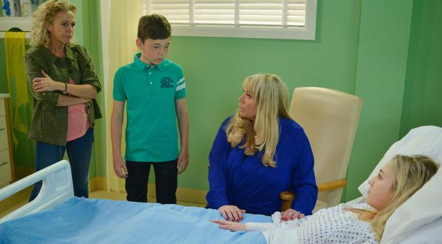 EastEnders' Tilly Keeper on Lucy Benjamin's surprise return as her mother (BBC)