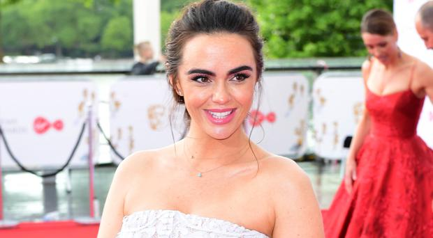 Jennifer Metcalfe praised for sharing inspiring post-pregnancy body message (Ian West/PA)