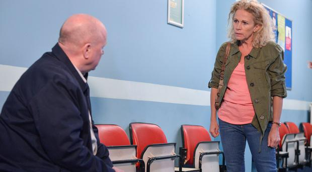 EastEnders' Lucy Benjamin promises 'fireworks' as Lisa Fowler and Phil Mitchell reunite (BBC)