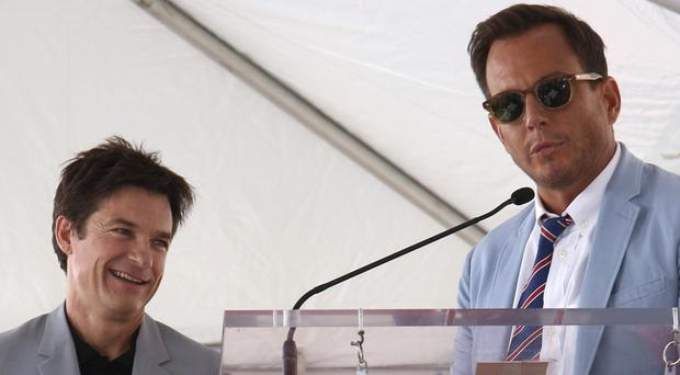 Jason Bateman and Will Arnett (Willy Sanjuan/AP)
