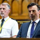 Pierce Harris is in court (Amy Brammall/ITV)