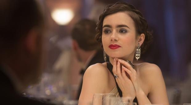 Lily Collins in The Last Tycoon (Amazon)
