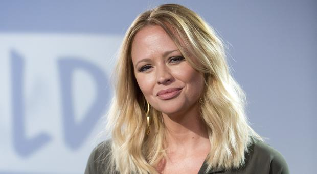 Kimberley Walsh has talked about being in Girls Aloud (Isabel Infantes/PA)