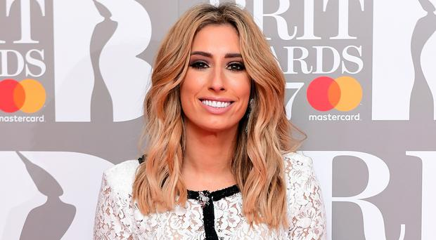 Stacey Solomon (Ian West/PA)