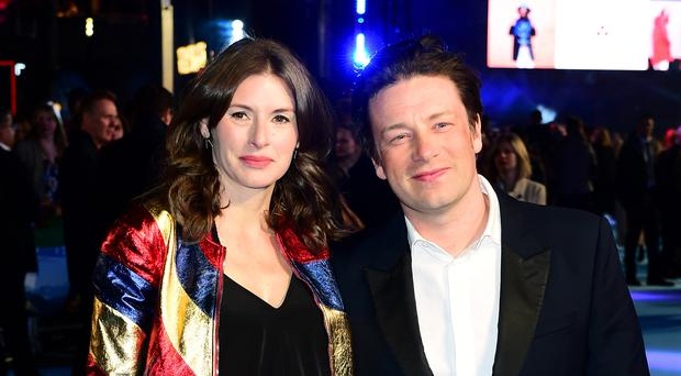 Jools and Jamie Oliver (Ian West/PA)
