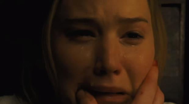 Jennifer Lawrence in Mother! (Paramount)