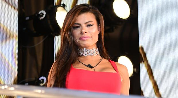 Marissa Jade is evicted from the Celebrity Big Brother house (Ian West/PA)