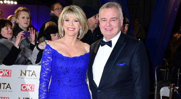 Ruth Langsford and Eamonn Holmes (Ian West/PA)