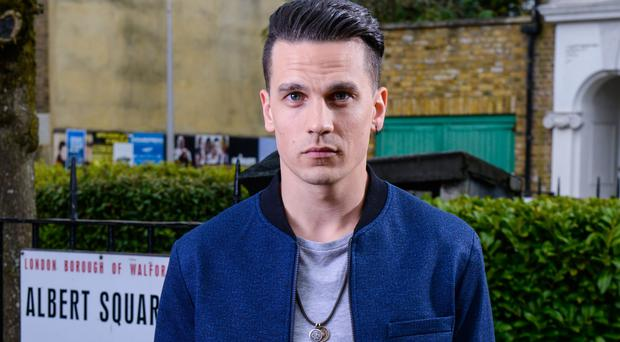 EastEnders has confirmed that Aaron Sidwell will be leaving the show (BBC)