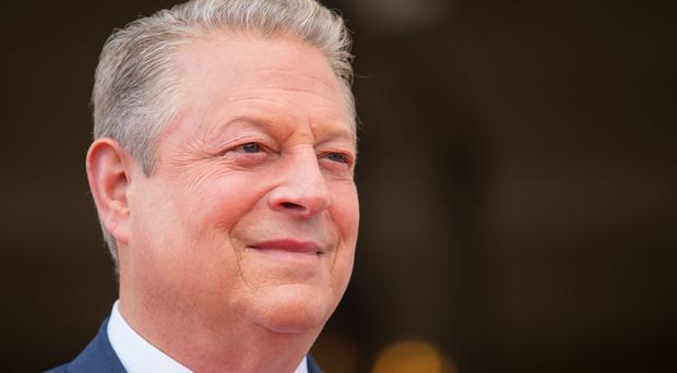 Former US Vice President Al Gore arrives for the UK premiere of An Inconvenient Sequel: Truth to Power at Somerset House in London (Dominic Lipinski/PA)