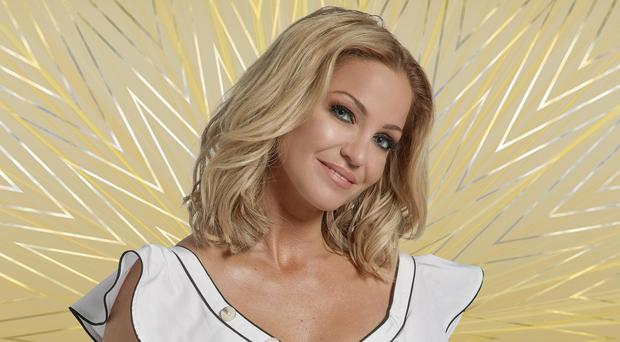 Sarah Harding has had another row (Channel 5/PA)
