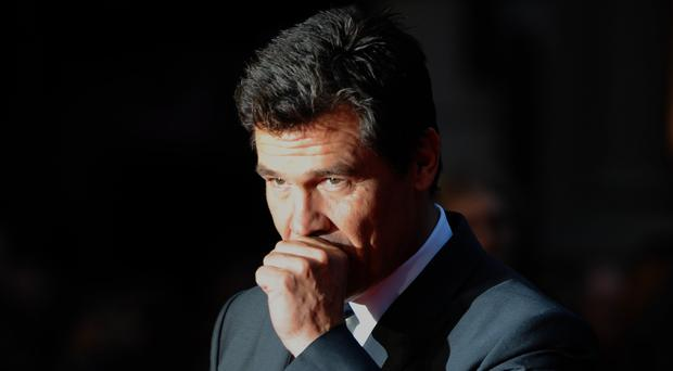 Josh Brolin said the director was not best pleased with him (Anthony Devlin/PA)