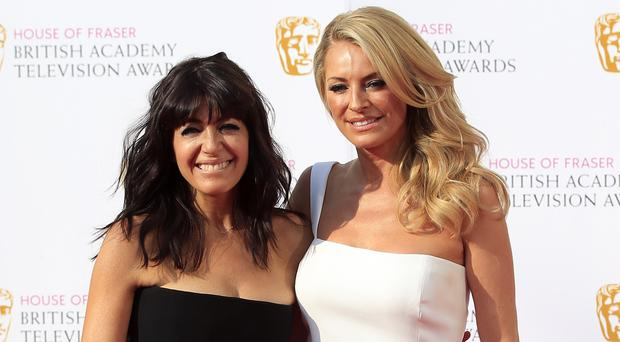 Tess Daly and Claudia Winkleman are back to present Strictly (Jonathan Brady/PA)