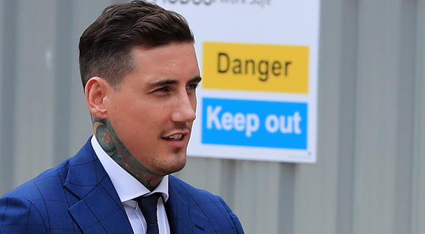 Jeremy McConnell has been spared jail for assaulting Stephanie Davis (Peter Byrne/PA)