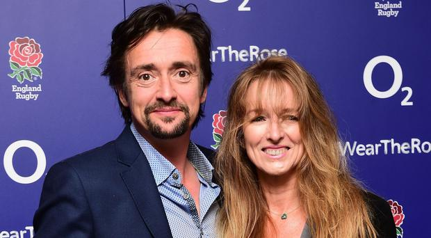Richard Hammond and his wife Mindy (Ian West/PA)