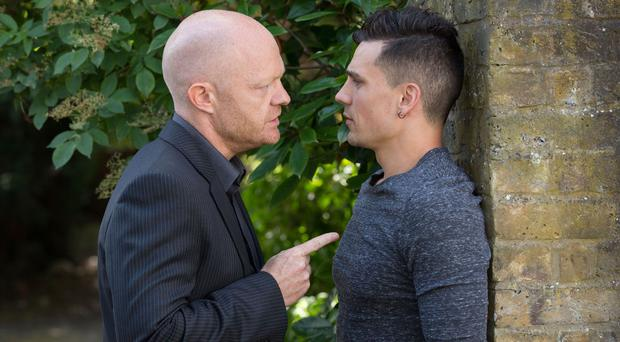 Max Branning and Steven Beale are on a collision course in EastEnders (BBC)